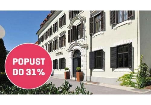 Hotel Kristal Dolenjske toplice wellness Slovenija banje popust cena