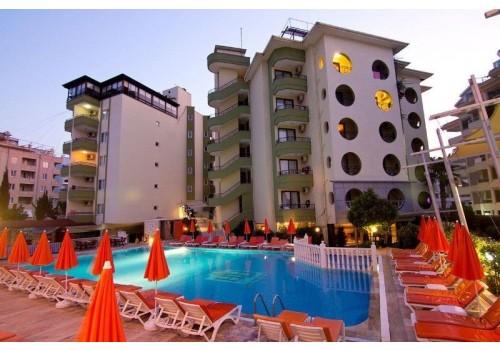 HOTEL KRIZANTEM ALANJA TURSKA LETO