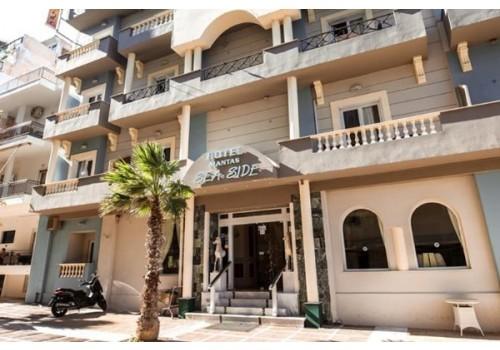Hotel MANTAS SEA SIDE Lutraki Peloponez Grčka letovanje