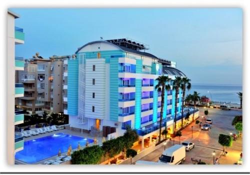 Hotel Mesut Alanja Turska more plaža bazen letovanje povoljno avionom 7 dana
