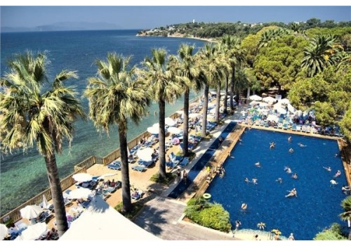 Hotel Omer Holiday Resort Kušadasi Turska bazen letovanje paket aranžman