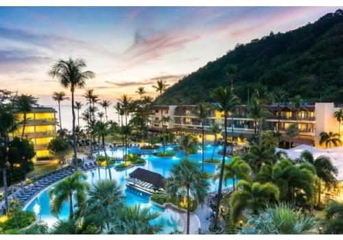 Hotel Phuket Mariott Resort & Spa Merlin Beach Puket Tajland paket aranžman noću