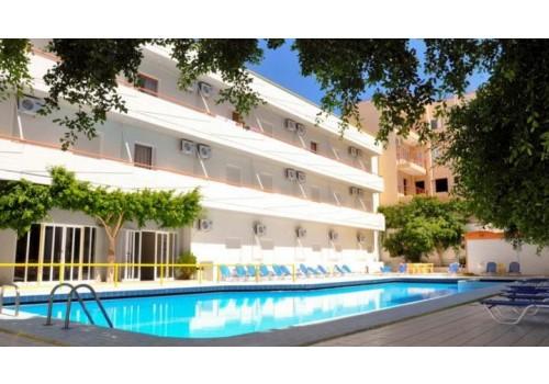 Hotel Porto Plaza Hersonisos Krit Grčka more leto 2019 Mediteran smeštaj avionom letovanje povoljno bazen terasa