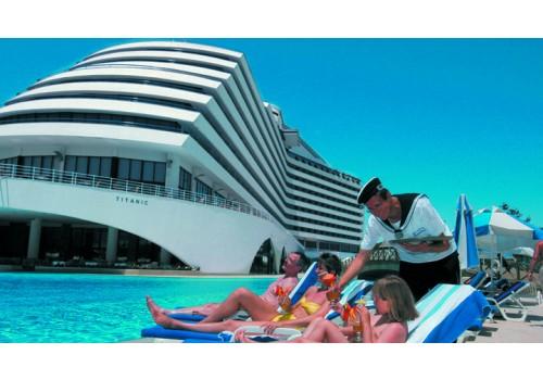 HOTEL TITANIC BEACH LARA TURSKA ANTALIJA - LARA LETO ARANŽMANI AVIONOM