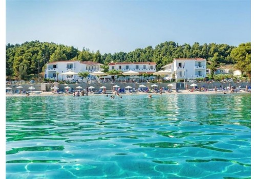 HOTEL XENIOS DOLPHIN BEACH HALKIDIKI HOTELI KASANDRA LETO CENA