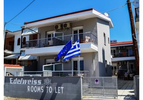 Kuća Edelweiss Nikiti Sitonija Grčka letovanje smeštaj