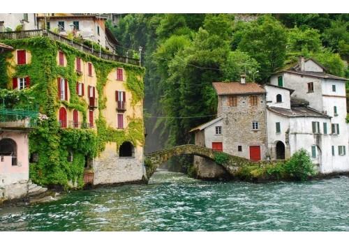 Najlepša Jezera Italije Komo Mađare Garda Prvi maj