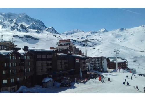 Residence Eskival zima Alpi Val Thorens skijanje Francuska zimovanje