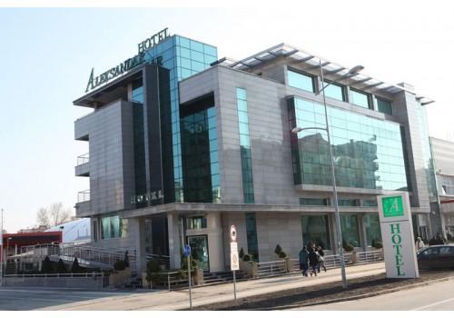 Hotel Aleksandar Novi Sad Serbia incoming
