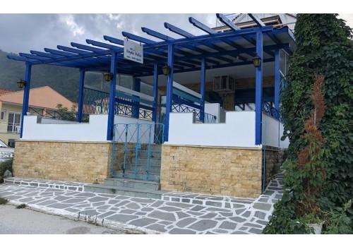 Vila Vangelis Skala Potamia Tasos more grčka letovanje autobus sopstveni prevoz noćenje studio apartmanski smeštaj ulaz