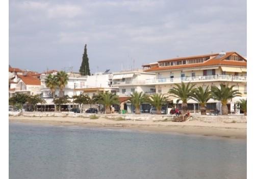 Vila zoi nea kalikratia pored mora grčka letovanje smeštaj plaža pesak