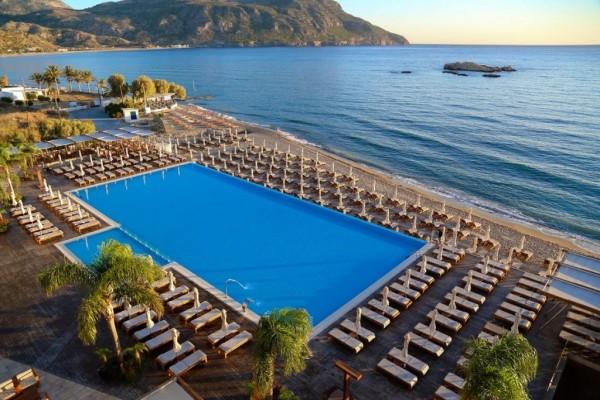 HOTEL ALIMOUNDA MARE GRČKA HOTELI KARPATOS LETO CENA