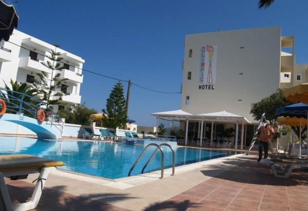 HOTEL OLYMPIC GRČKA HOTELI KARPATOS LETO CENA