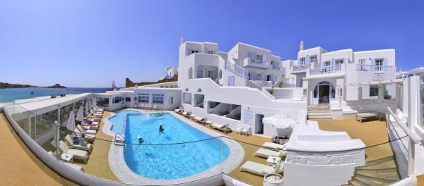HOTEL PETINOS BEACH GRČKA HOTELI MIKONOS LETO CENA