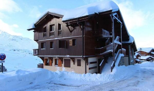 Apartmani Chalet Emeraude Val Thorens zimovanje skijanje Francuska Alpi zima odmaralište