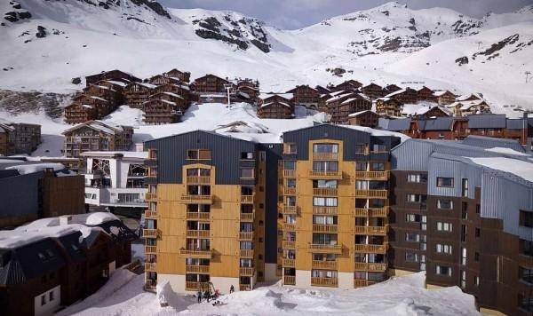 Apartmani Cimes de Caron Val Thorens zimovanje skijanje Francuska Alpi zima odmaralište