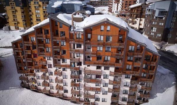 Apartmani Residence Joker zima Alpi Val Thorens skijanje Francuska zimovanje terase