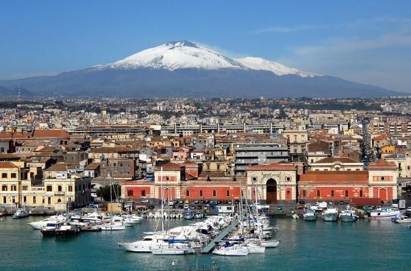 Sicilijanska tura barokna italija Etna Palermo