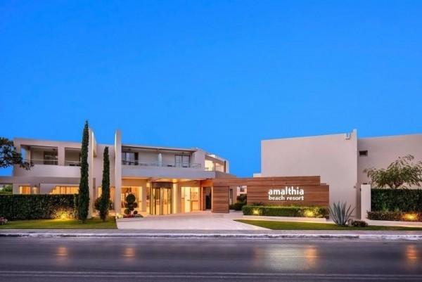 Hotel Amalthia Beach Resort Agia Marina zgrada