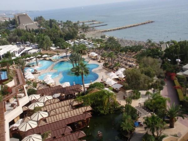 Hotel Amathus Beach Kipar letovanje more mediteran cena paket aranžman panorama