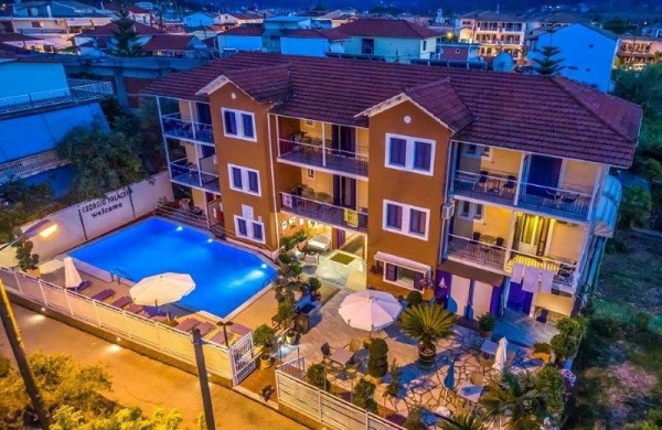 HOTEL APP GEORGIO PALACE NIDRI LEFKADA CENE