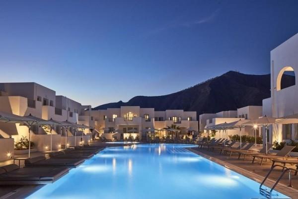 HOTEL AQUA BLUE SANTORINI GRČKA PONUDA LETO