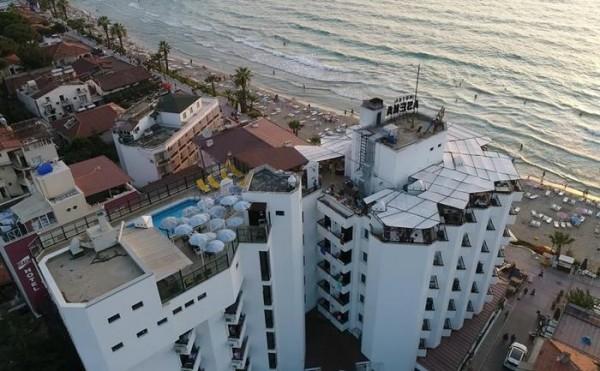 Hotel Asena Kušadasi Turska letovanje paket aranžman more plaža smeštaj soba kreveti apartman
