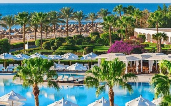Hotel Baron Resort Sharm El Sheikh 5* Bašta