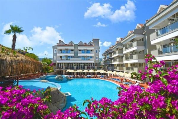 Hotel Begonville Marmaris Turska leto plaža city more letovanje paket aranžman bazen