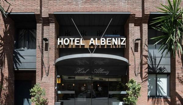 HOTEL CATALONIA ALBENIZ BARSELONA SPANIJA
