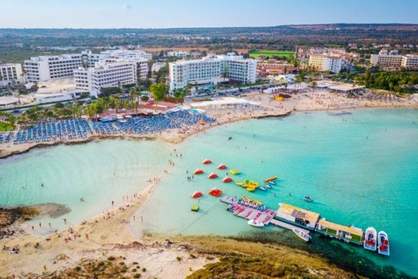Hotel Christofinia Aja Napa Kipar more letovanje paket aranžman plaža