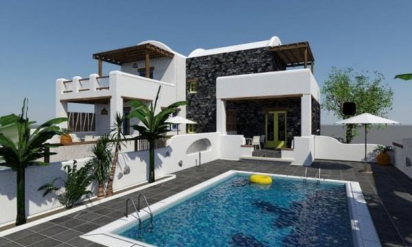 HOTEL CLIFF SIDE SUITES Firostefani Santorini bazen