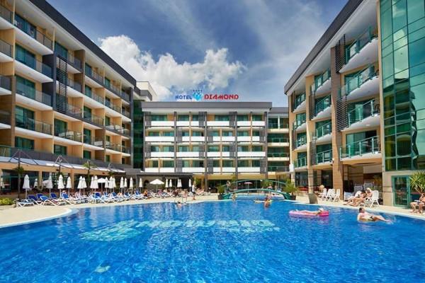 Hotel Diamond Sunčev breg letovanje bugarska povoljno smeštaj