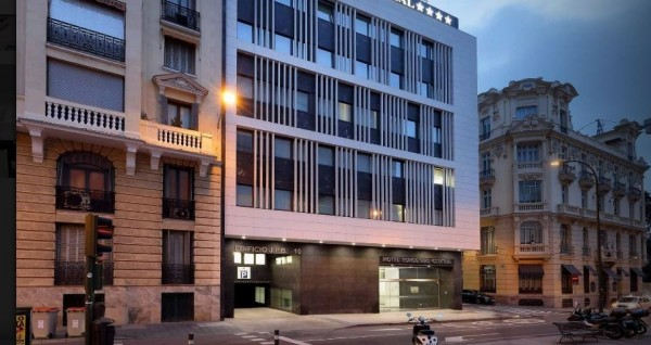 hotel eurostars central madrid spanija