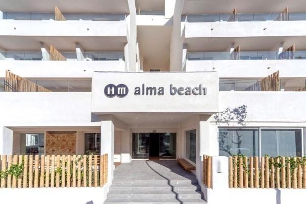 Hotel HM Alma beach Kan Pastilja Majorka Španija paket aranžman ulaz