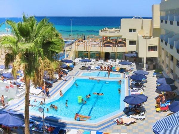 HOTEL KARAWAN BEACH TUNIS SUS ARANZMANI LETOVANJE HOTELI CENE