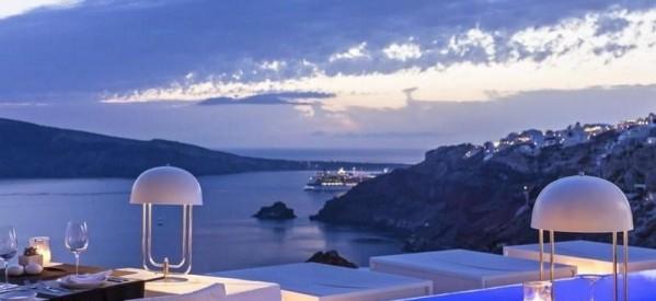 Grčka Santorini letovanje hoteli i apartmani Kamari, Fira