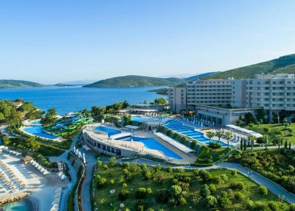 Hotel Lujo Bodrum Turska avionom letovanje paket aranžman povoljno all inclusive leto 2019 pogled zaliv