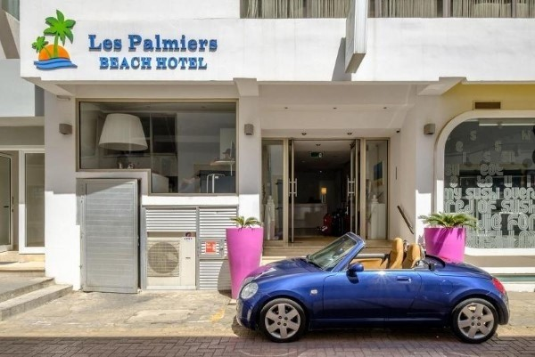Hotel Les Palmiers Beach boutique Larnaka Kipar more letovanje paket aranžman