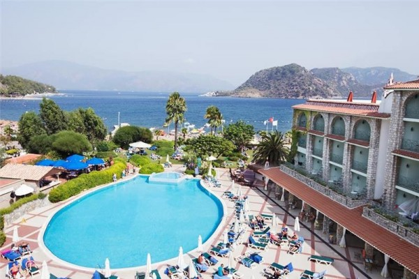 Hotel Marti la Perla Marmaris plaža leto Turska Letovanje povoljno paket aranžman