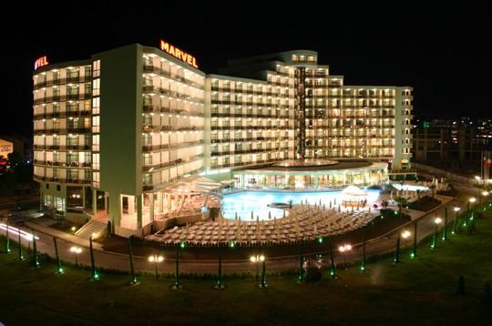 HOTEL MARVEL SUNČEV BREG BUGARSKA LETO AUTOBUS PONUDE FIRT MINUTE LAST MINUTE