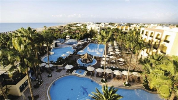Hotel Paradis Palace Hamamet letovanje Tunis paket aranžman