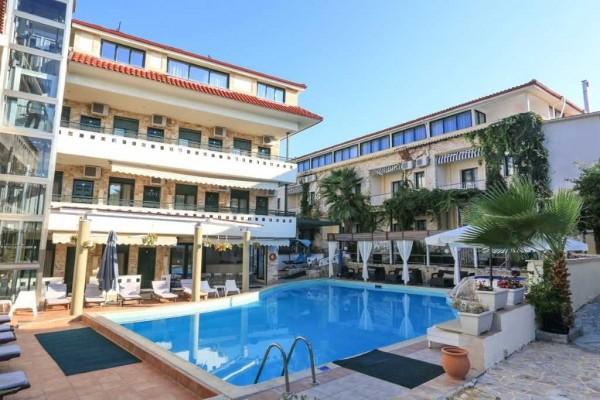 Hotel Philoxenia Spa Pefkohori letovanje grčka Halkidiki more smeštaj bazen