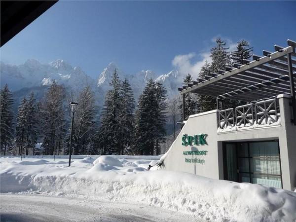Hotel Špik Kranjska gora skijanje wellness zimovanje odmor zima aranžman polupansion