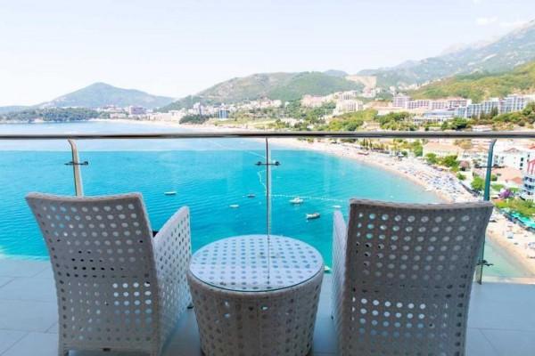 Hotel Ponta Nova Rafailovići letovanje crna gora odmor more terasa