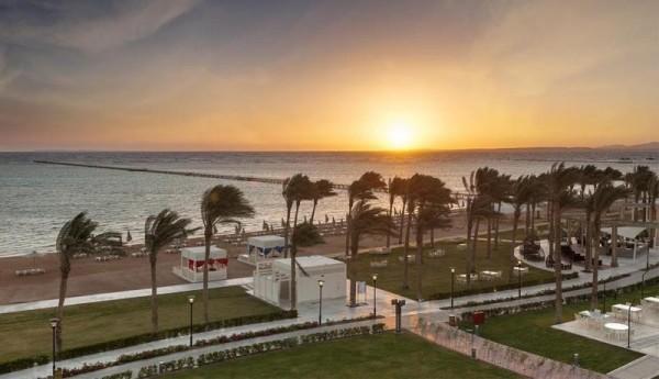 Hotel Rixos Sea Gate 5* Šarm el Šeik Plaža