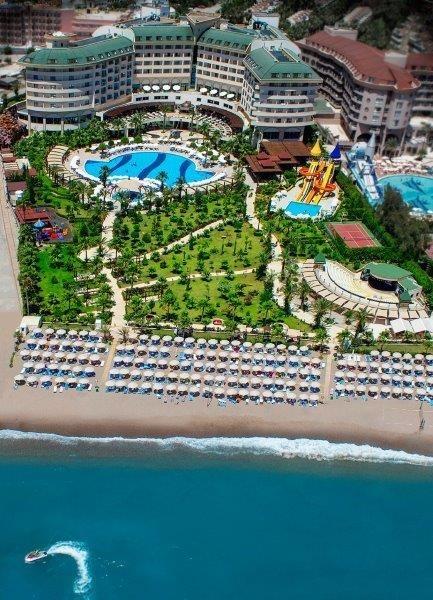 ALANJA TURSKA HOTELI 5* NA PLAZI DREAMLAND