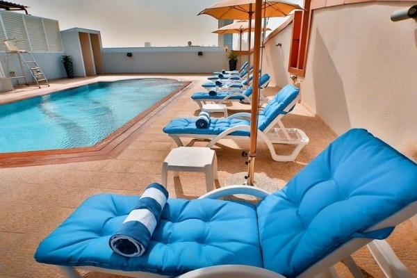 Hotel Signature al barsha dubai more letovanje daleke destinacije UAE leto bazen ležaljke