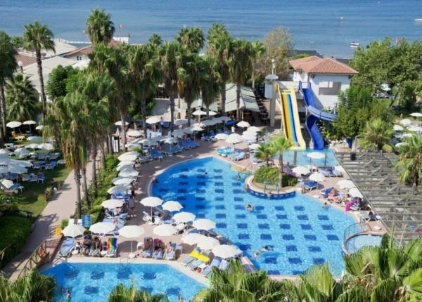 Hotel Trendy Palm Beach Side leto avionom Turska more paket aranžman porodica tobogan