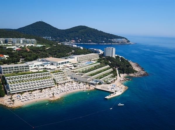 Hotel Valamar Collection Dubrovnik President kompleks plaža more jadran